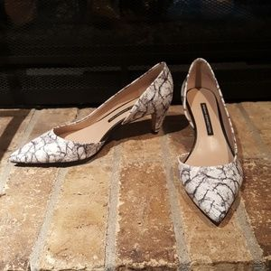 French Connection | Marbled Heels